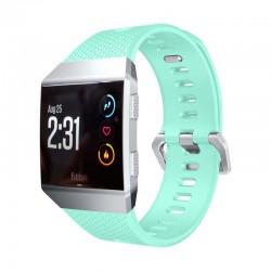 Sportovní silikonový řemínek pro Fitbit Ionic světle modrý