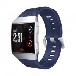 Sportovní silikonový řemínek pro Fitbit Ionic modrý