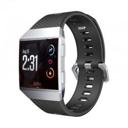 Sportovní silikonový řemínek pro Fitbit Ionic černý