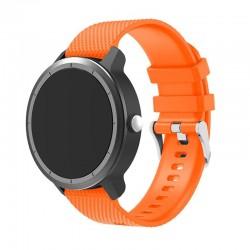Silikonový řemínek pro Garmin Vivoactive 3 oranžový