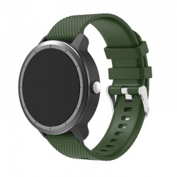Silikonový řemínek pro Garmin Vivoactive 3 zelený