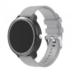 Silikonový řemínek pro Garmin Vivoactive 3 šedý