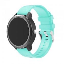 Silikonový řemínek pro Garmin Vivoactive 3 světle modrý