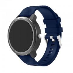Silikonový řemínek pro Garmin Vivoactive 3 modrý