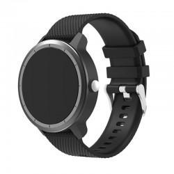 Silikonový řemínek pro Garmin Vivoactive 3 černý