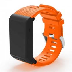 Silikonový řemínek pro Garmin Vivoactive HR oranžový
