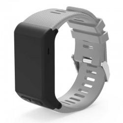 Silikonový řemínek pro Garmin Vivoactive HR šedý