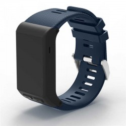 Silikonový řemínek pro Garmin Vivoactive HR modrý
