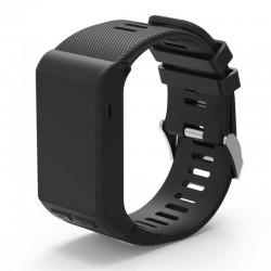 Silikonový řemínek pro Garmin Vivoactive HR černý
