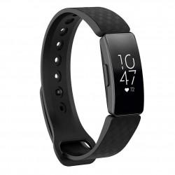 Sportovní silikonový řemínek pro Fitbit Inspire HR černý