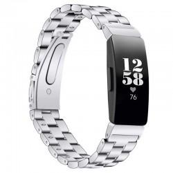 Kovový řemínek pro Fitbit Inspire HR stříbrný