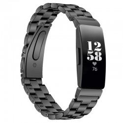 Kovový řemínek pro Fitbit Inspire HR černý
