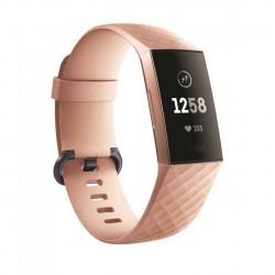 Sportovní silikonový řemínek pro Fitbit Charge 3 růžový