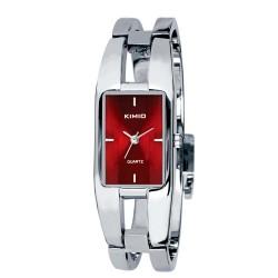 Dámské hodinky Kimio BG6001 s červeným ciferníkem