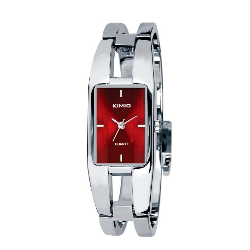 a498ea275db Dámské hodinky Kimio BG6001 s červeným ciferníkem