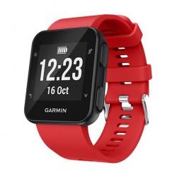 Silikonový řemínek pro Garmin Forerunner 35 červený
