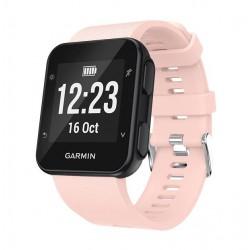 Silikonový řemínek pro Garmin Forerunner 35 růžový