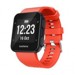 Silikonový řemínek pro Garmin Forerunner 35 oranžový