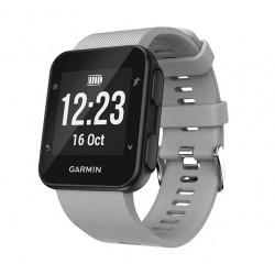 Silikonový řemínek pro Garmin Forerunner 35 šedý