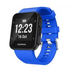 Silikonový řemínek pro Garmin Forerunner 35 modrý