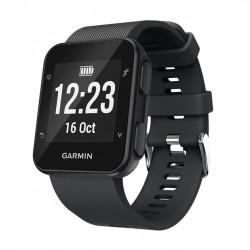 Silikonový řemínek pro Garmin Forerunner 35 černý