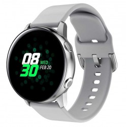 Silikonový řemínek pro Samsung Galaxy Watch Active 2 44mm šedý