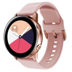 Silikonový řemínek pro Samsung Galaxy Watch Active 2 40mm růžový
