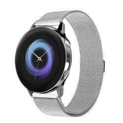 Řemínek Milánský tah pro Samsung Galaxy Watch Active stříbrný