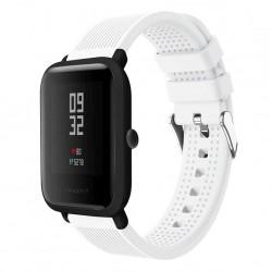 Silikonový řemínek pro Xiaomi Amazfit Bip bílý