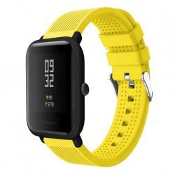Silikonový řemínek pro Xiaomi Amazfit Bip žlutý