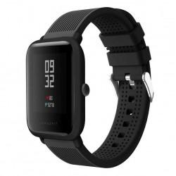 Silikonový řemínek pro Xiaomi Amazfit Bip černý