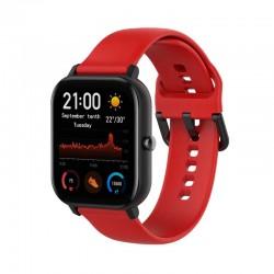 Silikonový řemínek pro Xiaomi Amazfit GTS červený