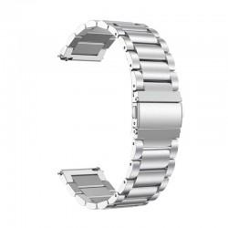 Kovový řemínek pro Huawei Watch GT 2 46mm stříbrný
