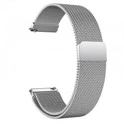 Řemínek Milánský tah pro Huawei Watch GT 2 46mm sříbrný