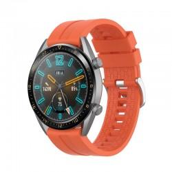 Silikonový řemínek pro Huawei Watch GT 2 42mm oranžový