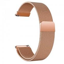 Řemínek Milánský tah pro Huawei Watch GT 2 42mm růžový