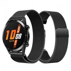 Řemínek Milánský tah pro Huawei Watch GT 2 42mm černý