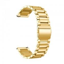 Kovový řemínek pro Garmin Vivoactive 4 zlatý