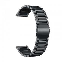 Kovový řemínek pro Garmin Vivoactive 4 černý