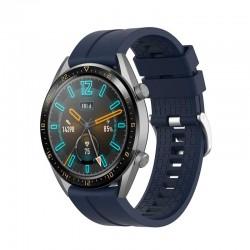 Silikonový řemínek pro Honor Watch Magic 2 46mm modrý