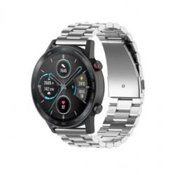 Kovový řemínek pro Honor Watch Magic 2 46mm stříbrný