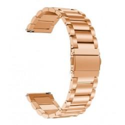 Kovový řemínek pro Honor Watch Magic 2 46mm růžový