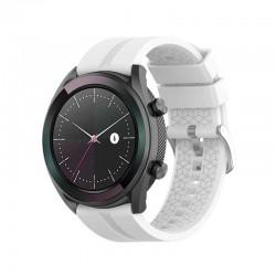 Silikonový řemínek pro Huawei Watch GT bílý