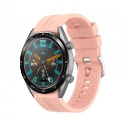 Silikonový řemínek pro Huawei Watch GT 2e růžový