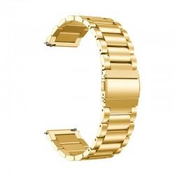 Kovový řemínek pro Huawei Watch GT 2e zlatý