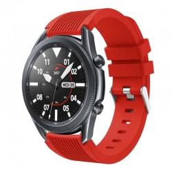 Silikonový řemínek pro Samsung Galaxy Watch 3 45mm červený