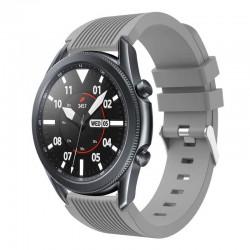 Silikonový řemínek pro Samsung Galaxy Watch 3 45mm šedý