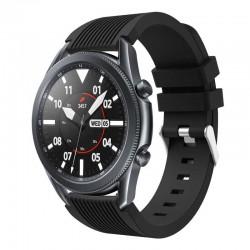 Silikonový řemínek pro Samsung Galaxy Watch 3 45mm černý
