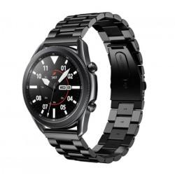 Kovový řemínek pro Samsung Galaxy Watch 3 45mm černý