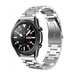 Kovový řemínek pro Samsung Galaxy Watch 3 45mm stříbrný